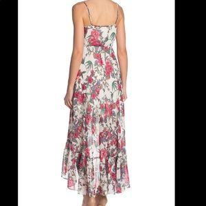 NWT Nanette Lepore Floral Striped Maxi